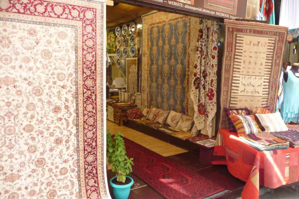 Магазин ковров на Родосе