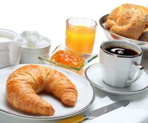 Континентальный завтрак в отеле на Родосе