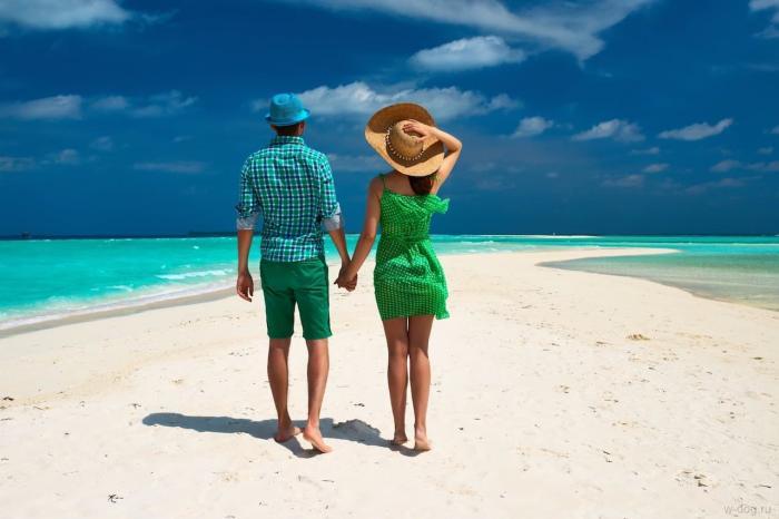 Активная пара на острове Родос
