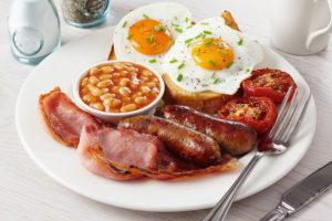 Английский (Американский) завтрак в отеле на Родосе