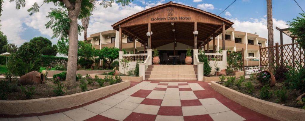 Отель Golden Days Hotel 2* на Родосе, в Афанду