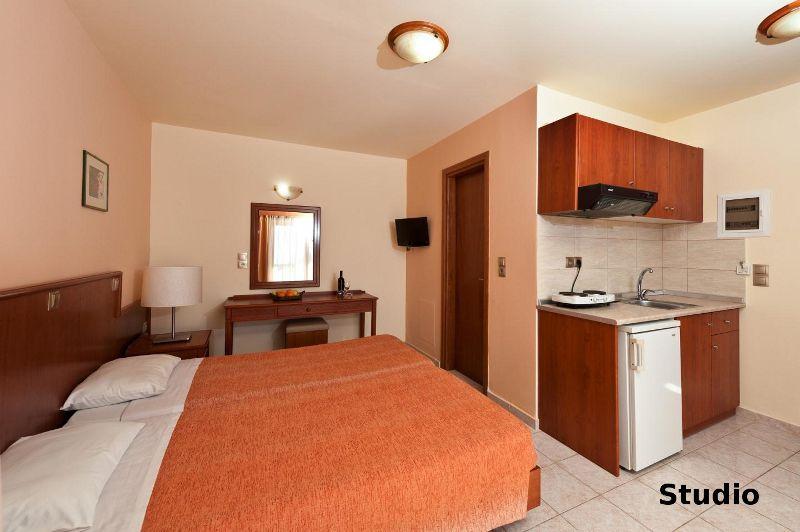 Номер студио в отеле на Родосе