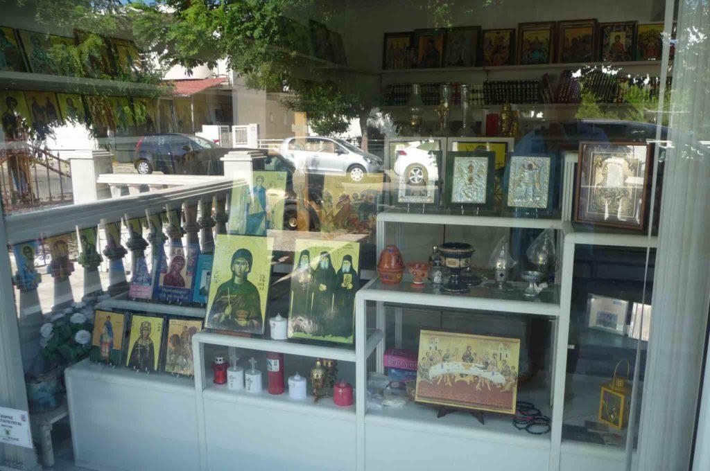 Магазин современных православных икон на Родосе