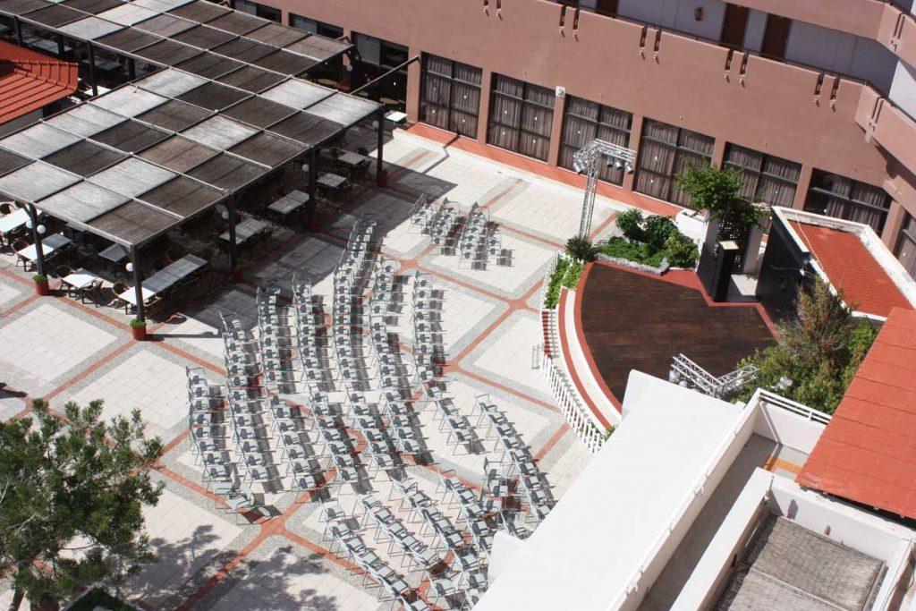 Сцена в отеле Луис Колоссос 4* на острове Родосе