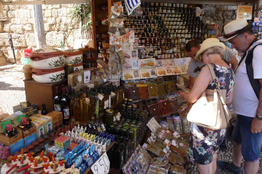 Купить оливковое масло на Родосе