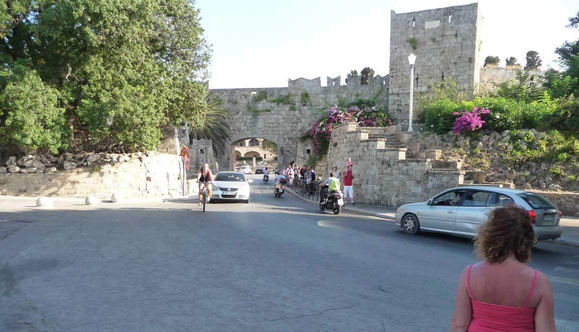 Ворота Свободы Старого города острова Родос