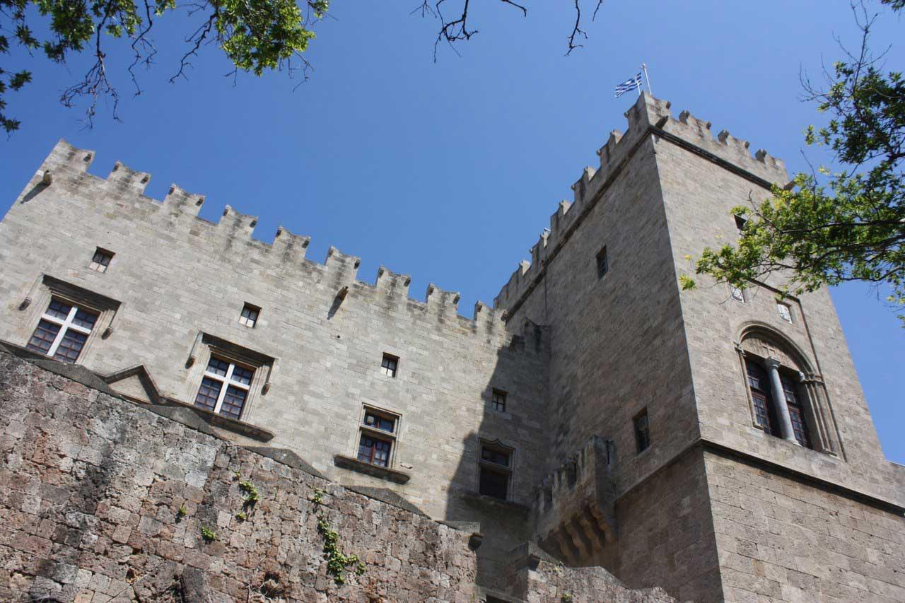 Дворец Великих Магистров в Старом городе острова Родос