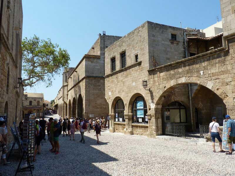 Музей Византии в Старом городе на острове Родос