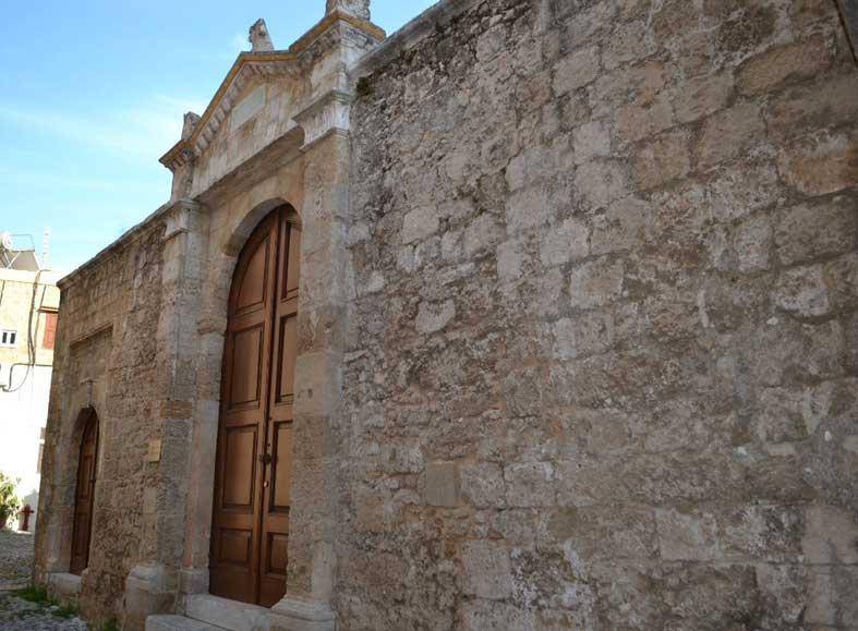 Синагога в еврейском квартале Старого города острова Родос