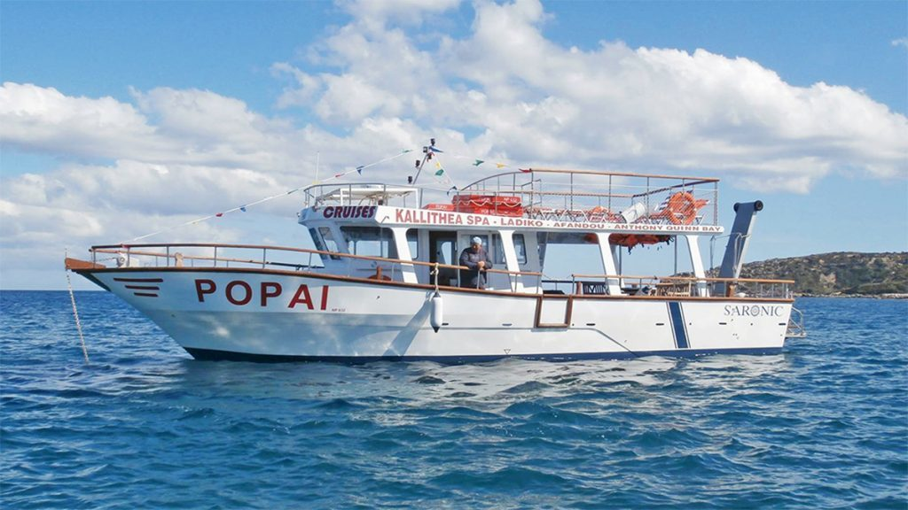 Пиратская прогулка на острове Родос