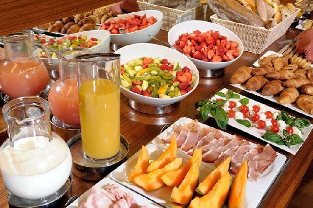 Завтрак на острове Родос