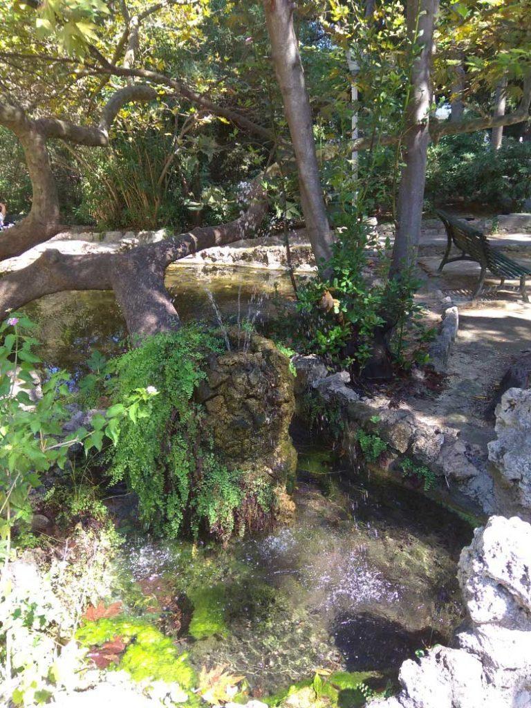 Водопроводный фонтанчик в Парке Родини