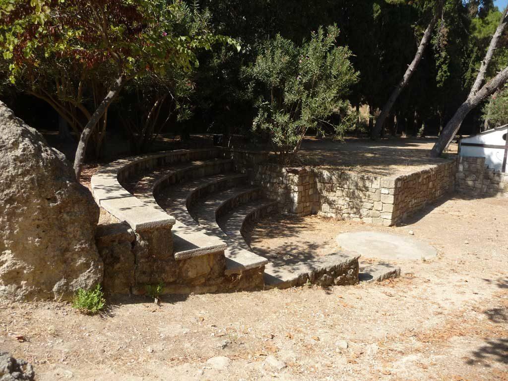 Амфитеатр в парке Родини