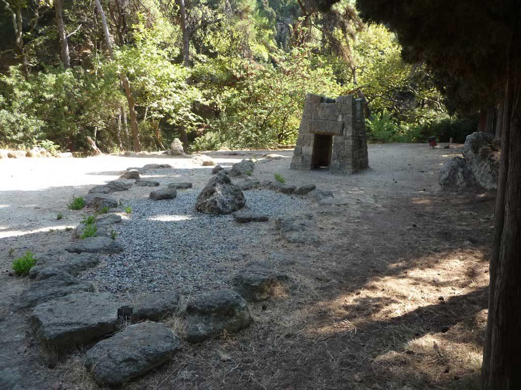 Сад камней в парке Родини