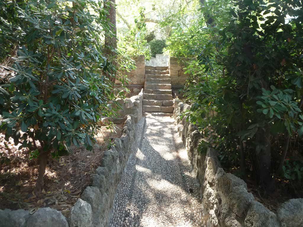 Место отдыха для туристов в парке Родини