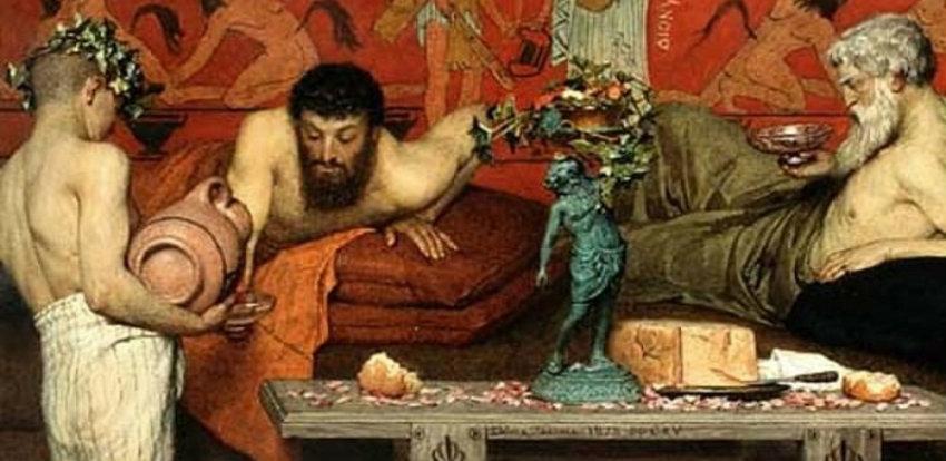Древнегреческий пир