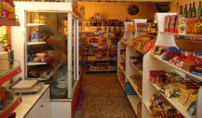 Товары в русском магазине на Родосе
