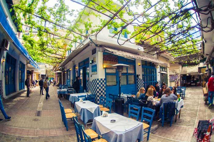 Узери - традиционное греческое кафе