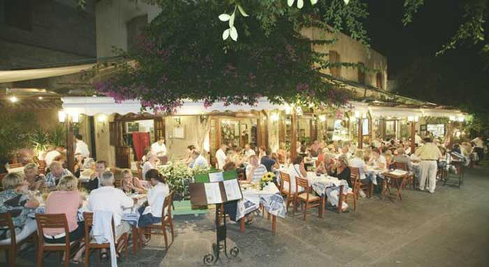 Ресторан в Старом городе Родоса