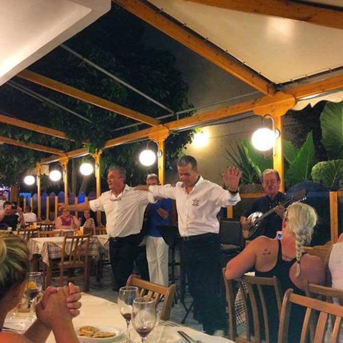 Теплая встреча греческими рестораторами
