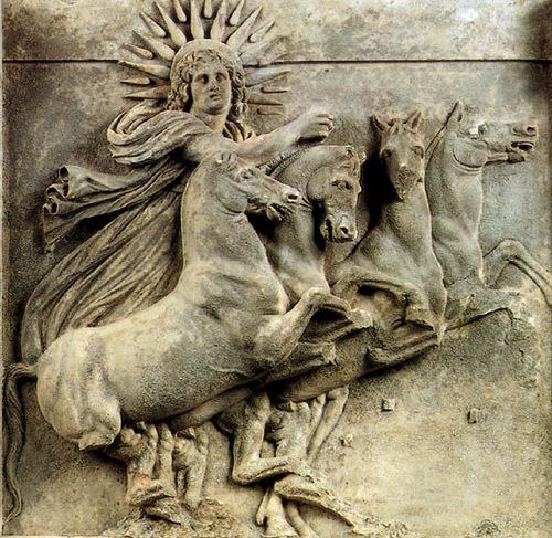 Гелиос - бог Солнца