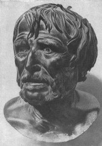 Автор статуи местный скульптор по имени Харес
