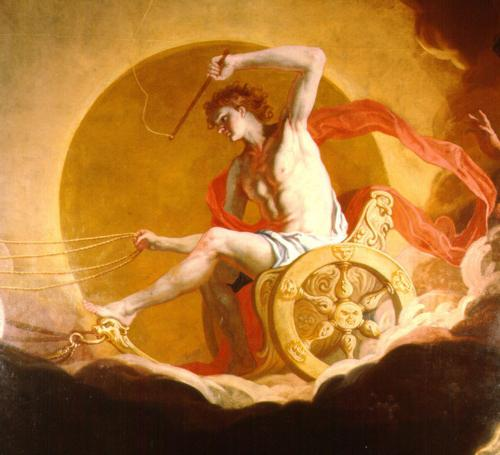 Колесница бога Солнца Гелиоса