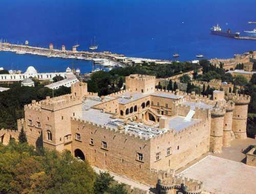 Дворец магистров на Родосе.