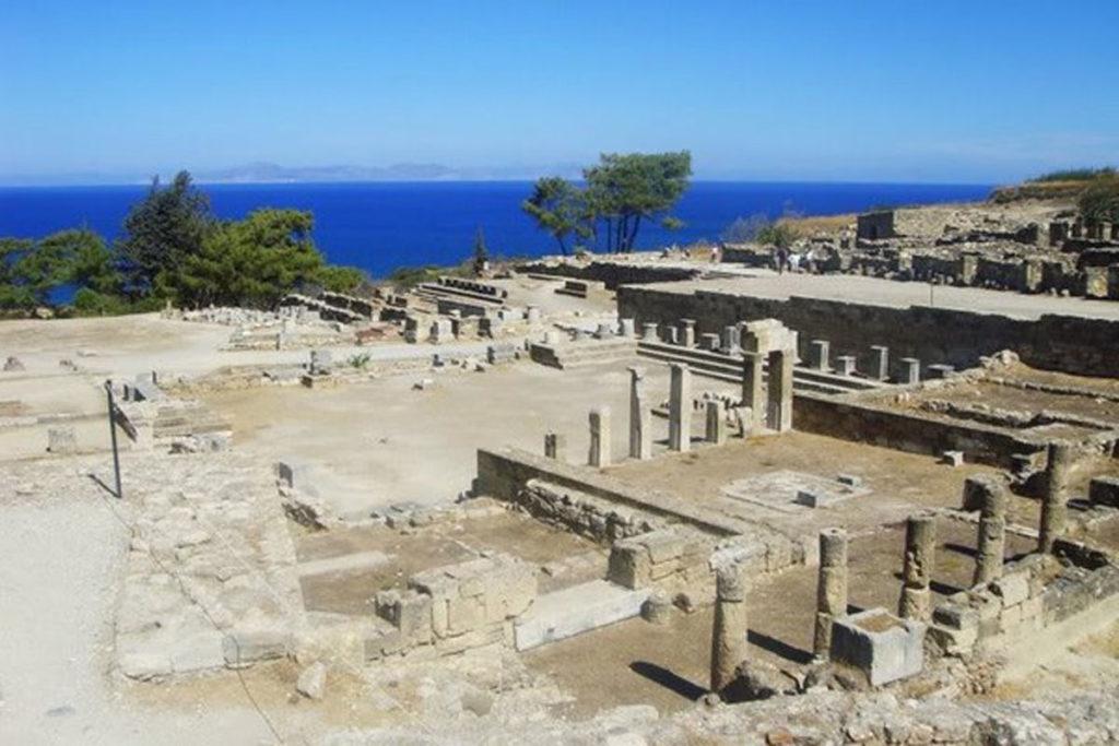 Храм Афродиты на Камиросе