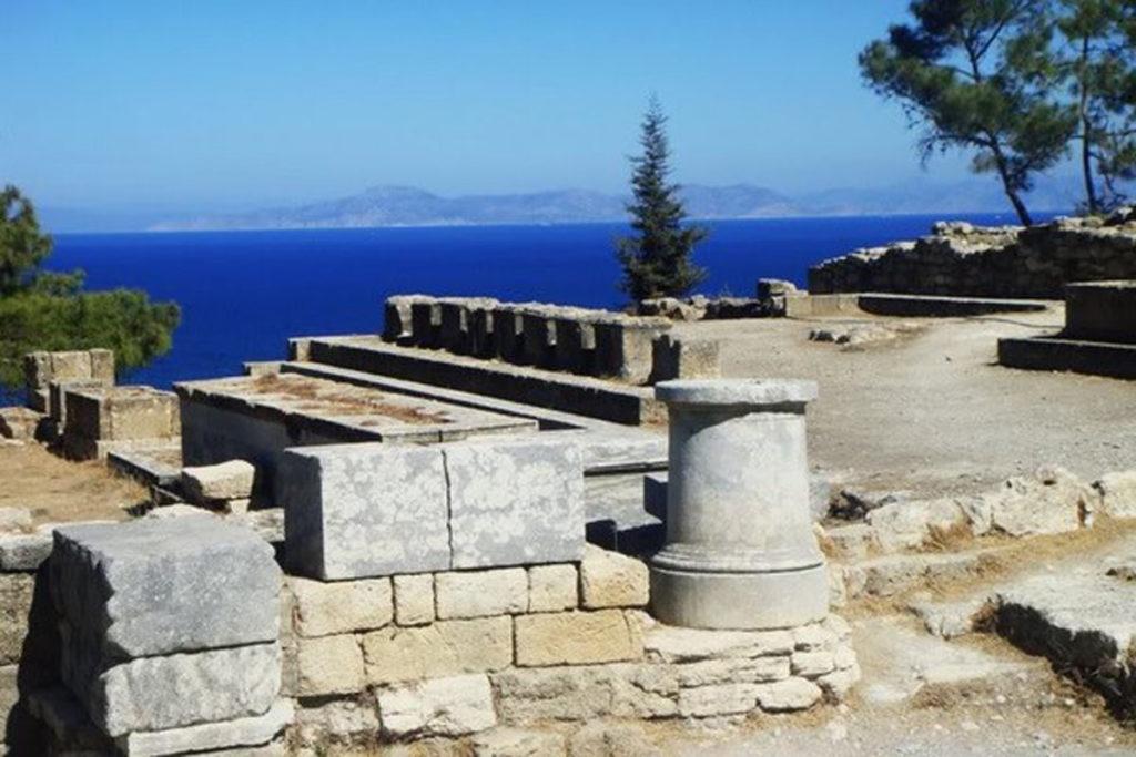 Акрополь города Кмироса, 120 метров над уровнем моря. Остров Родос