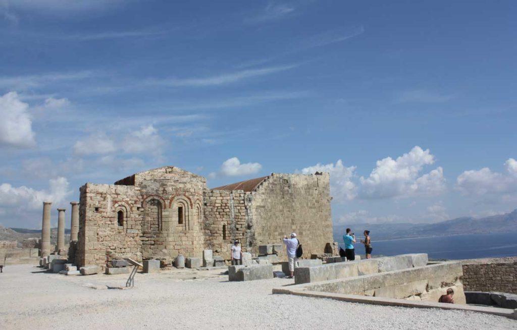 Развалины византийской церкви Св. Иоанна