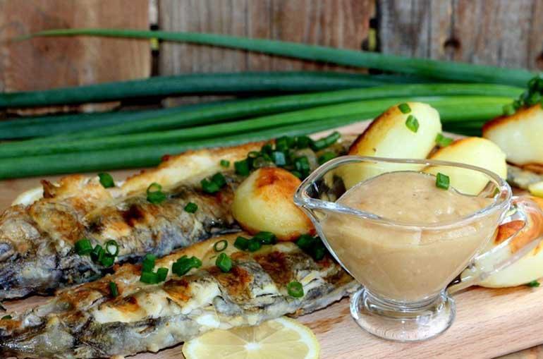 Скордалья - чесночная картофельная закуска с острова Родос