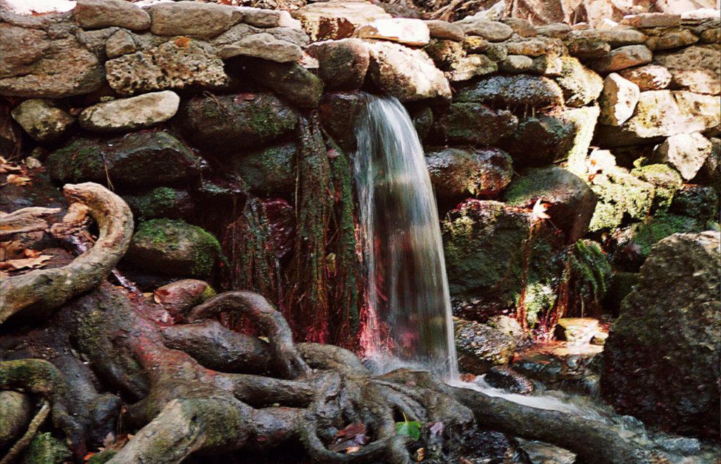Источник в Заповеднике Семь ручьев на Родосе