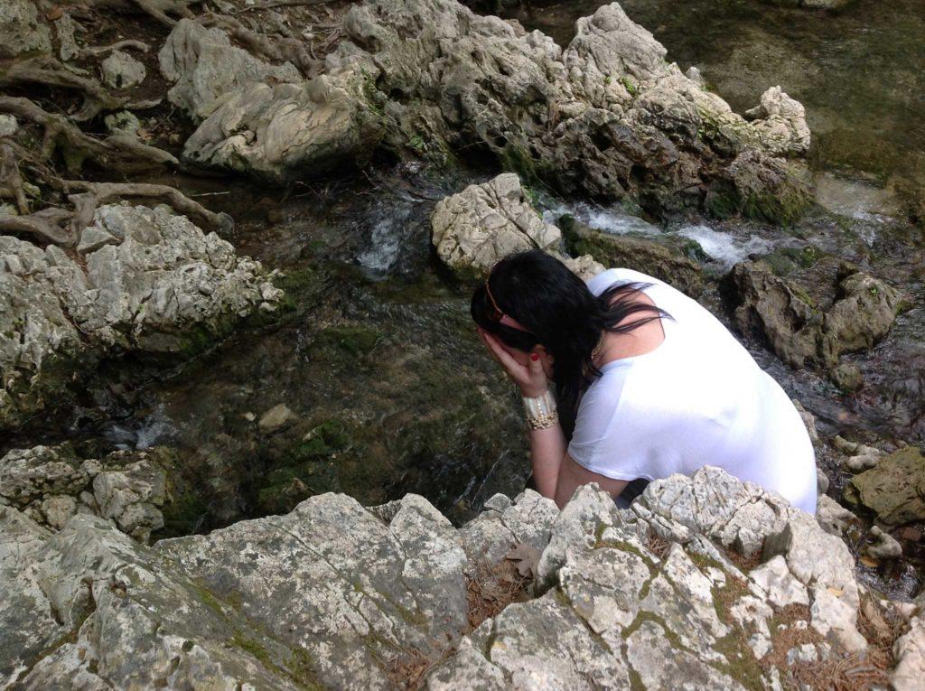 Омовение в Заповеднике Семь источников на острове Родос