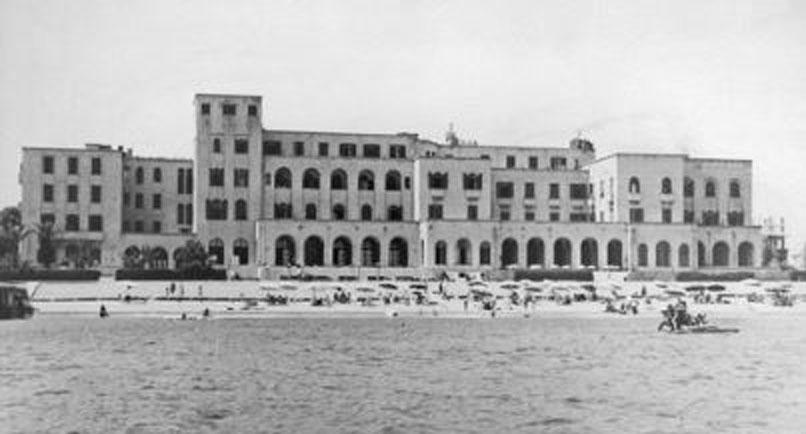 Казино Родос в 1929 году на острове Родос