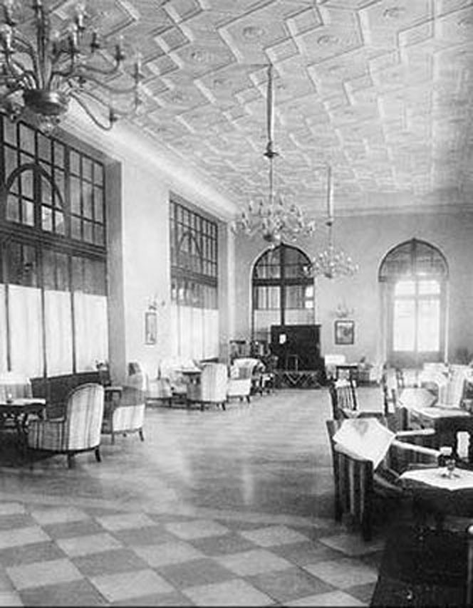 Казино Родос интерьеры в 1928 году на острове Родос