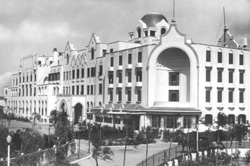 Казино Родос в первые годы после строительства на острове Родос