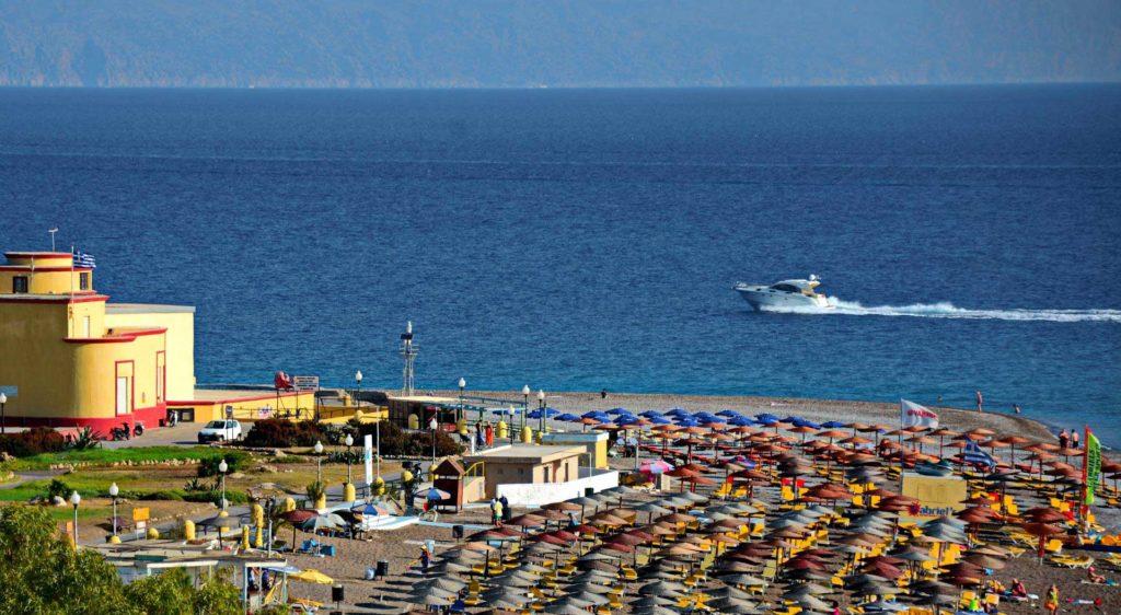 Пляж Элли города Родос