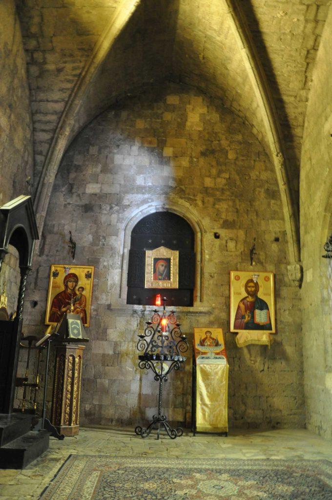 Внутреннее убранство церкви