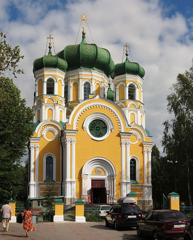 Икона Богородицы Филеримской в Павловском Соборе в Гатчине
