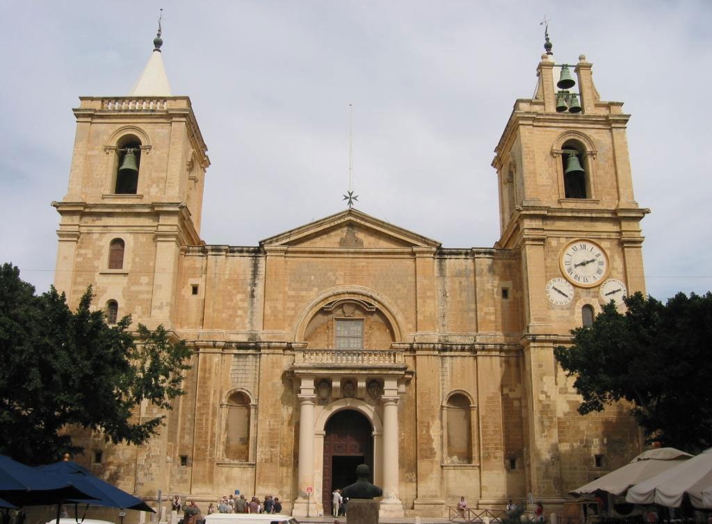 Икона Богородицы Филеримской собор Сан-Джованни на острове Мальта