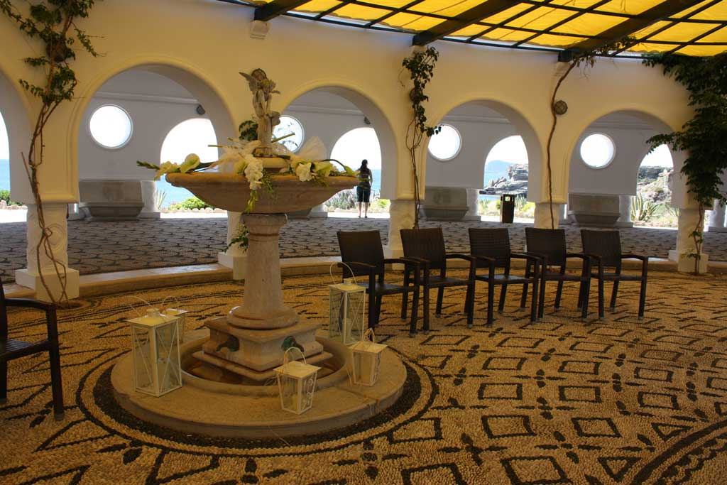 Свадебный зал в ротонде