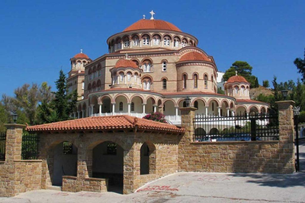 Восстановленный Святым Нектарием женский на острове Эгина