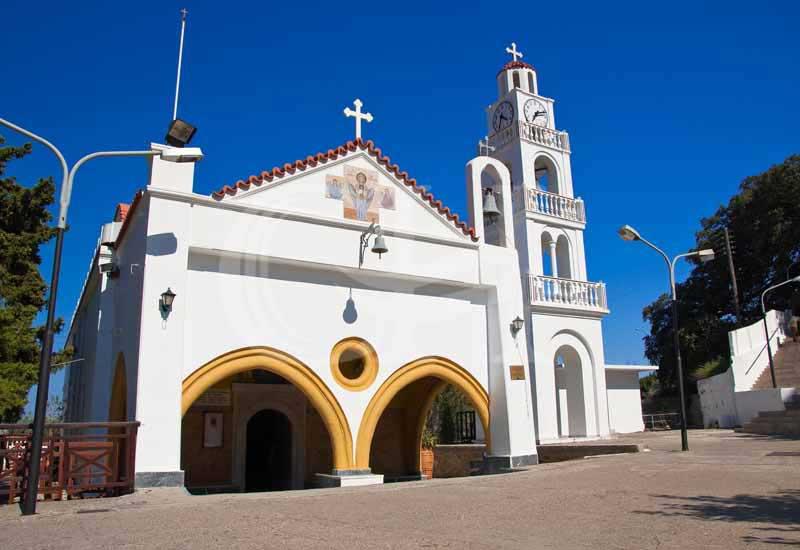 Церковь Божьей Матери Цамбика на острове Родос