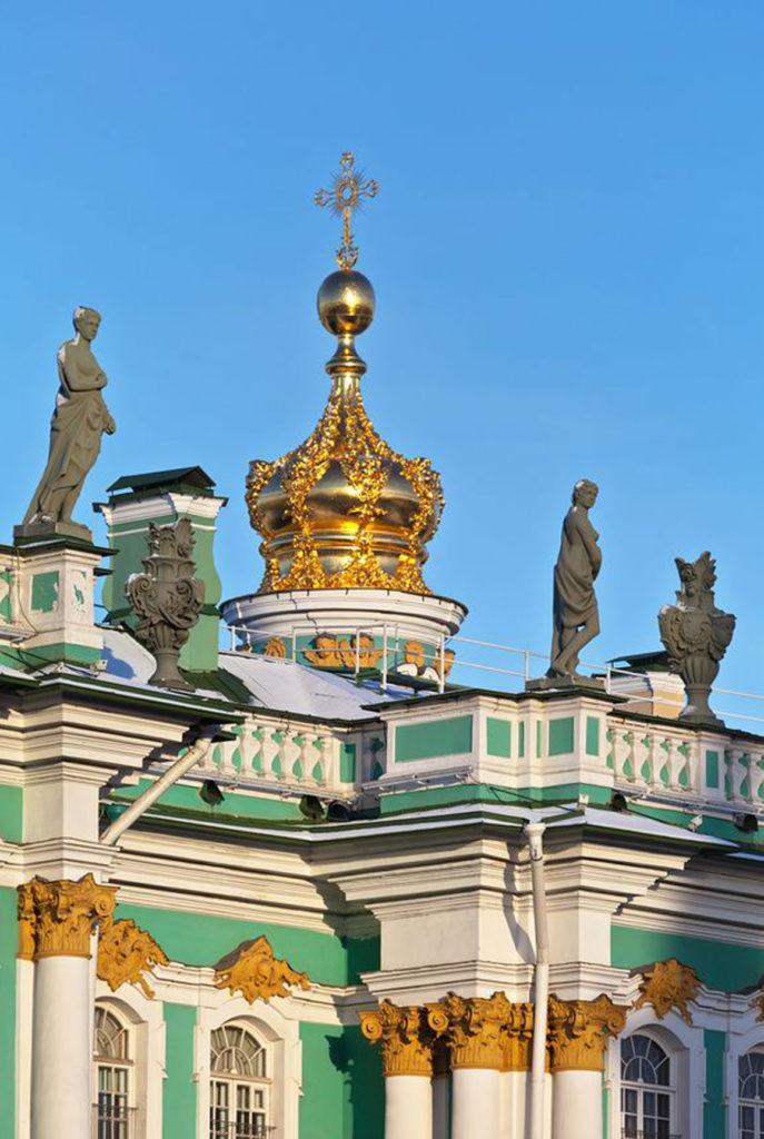 Икона Богородицы Филеримской в Зимнем Дворце СПб