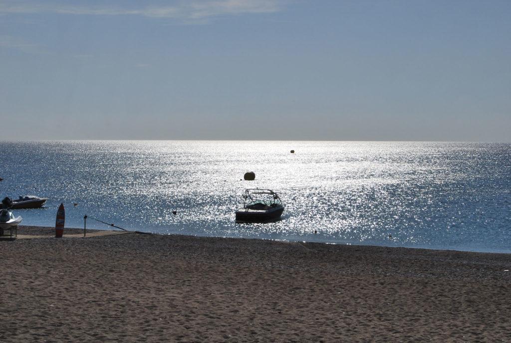 Вечер на пляже Афанду
