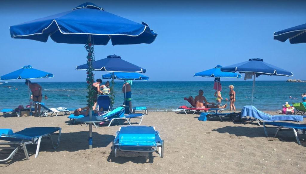 Пляж Катара в Фалираки на острове Родос