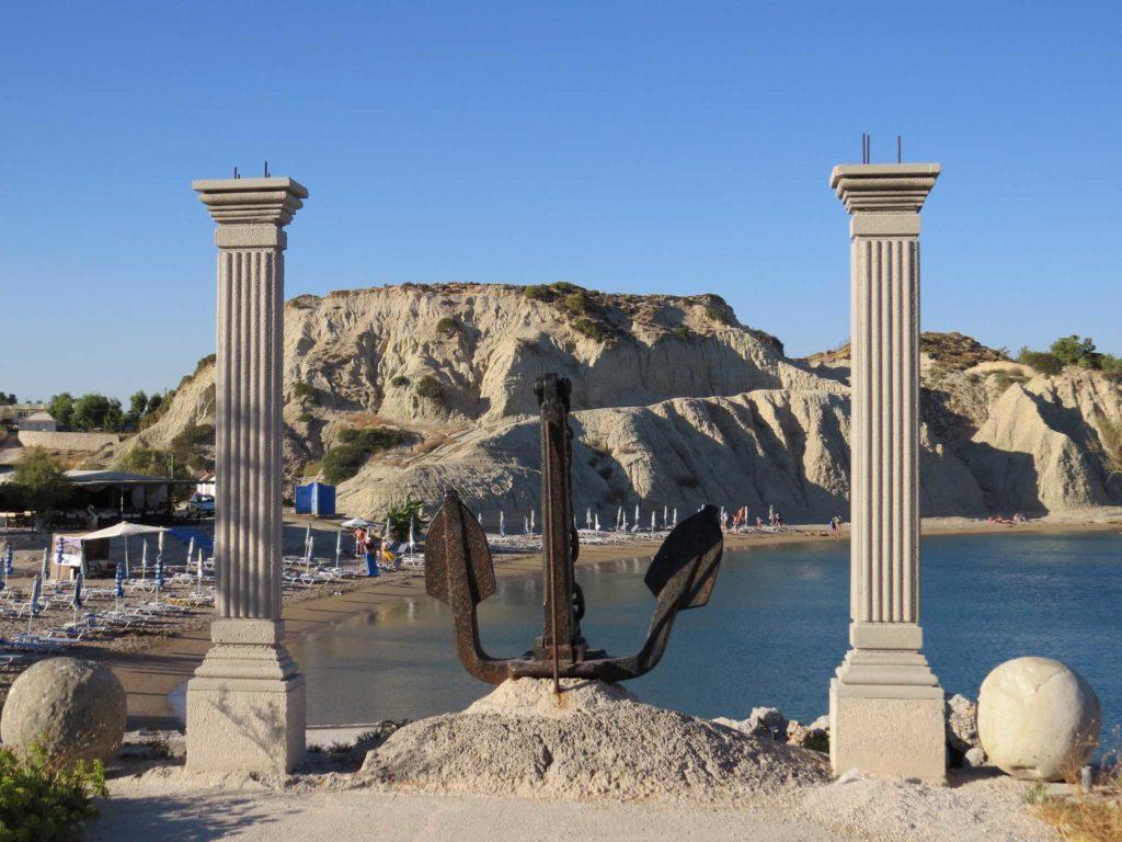 Центральный пляж курорта