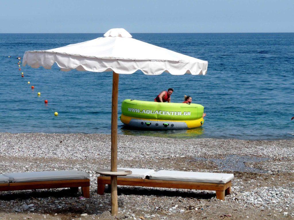 Водная станция на пляже Калифея на острове Родос
