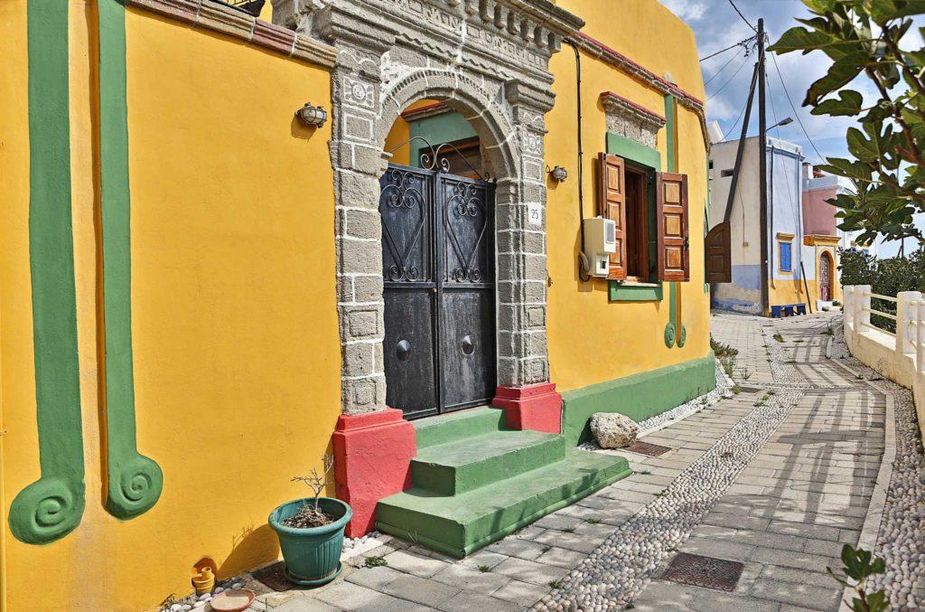 Деревня Коскину курорта Калифея на острове Родос